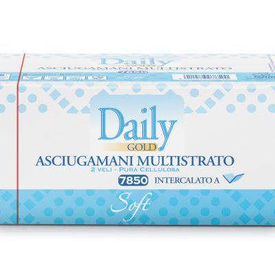 Carind asciugamani carta multistrato DAILY Interfold a V Soft