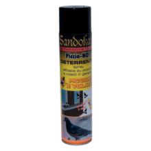 Sandokan Piccio-No repellente piccioni e volatili spray 600 ml