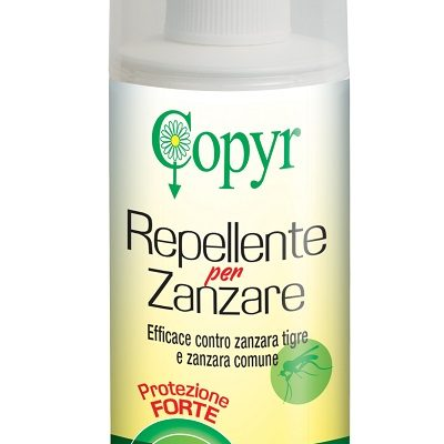 Copyr Repellente Zanzare Protezione Forte Spray no gas 100 ml